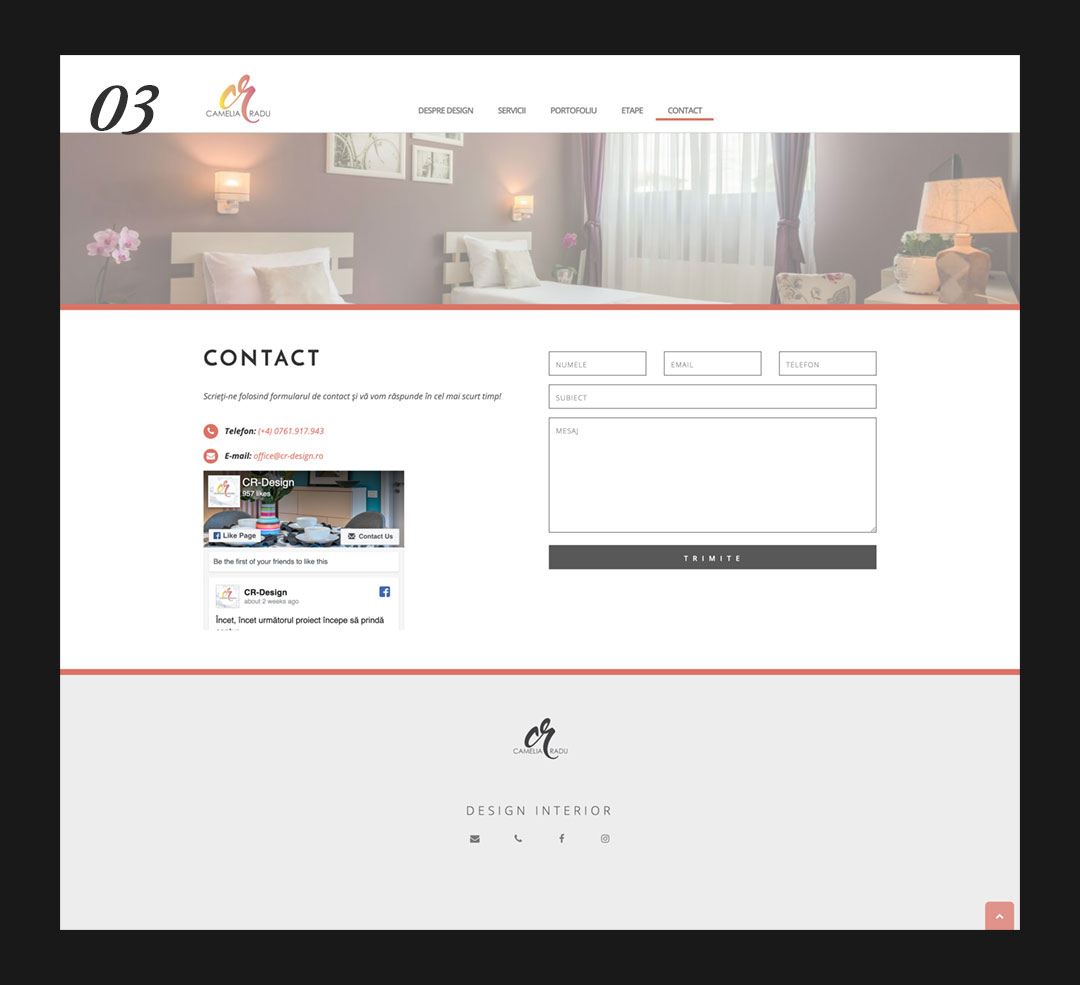 CR-design Contact Page